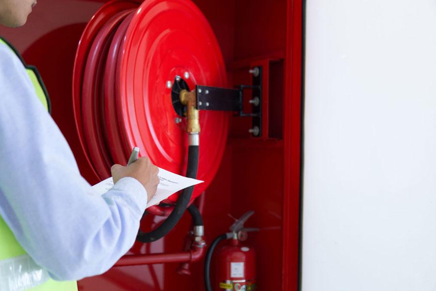 תחזוקת ציוד כיבוי אש לפי תקן