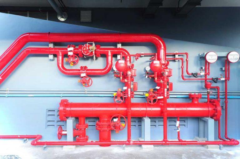 תכנון והקמת מערכות כיבוי אש