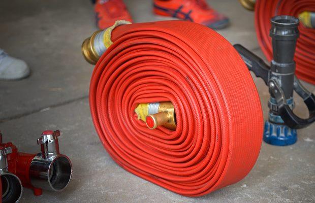 צינור כיבוי אש במידות שונות